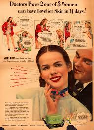 beauty and hygiene ads of the 1940s