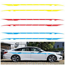 2pcs 350 8cm Car Stickers Car Side Body Door Graphics Long Stripe Pvc Vinyl Decals Decor Sticker Auto Diy Sticker Styling Buy At The Price Of 19 94 In Dhgate Com Imall Com