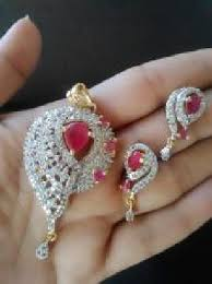 frenzy ad gold diamond designer pendant