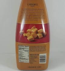 caramel 64oz torani sauce carytown