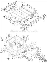 Bosch Table Saw 4000 Ereplacementparts Com