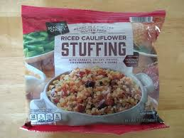 choice riced cauliflower stuffing