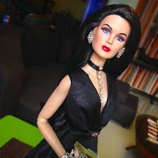 Adeline King in my black gown creation 👠 | MikesBarbie Doll | Flickr