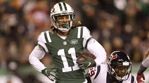 Robby Anderson partakes in 40-yard dash