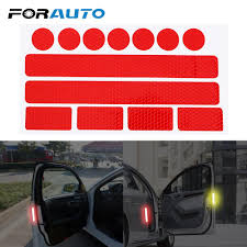 2020 Exterior Accessories Stickers Forauto In 1 Car Safety Warning Tape Reflective Strips Bumper Bike Decal Sticker Car From Lkmwdkawx 1 98 Dhgate Com