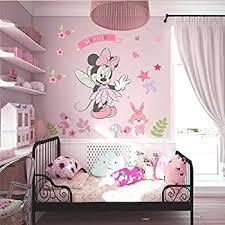 Amazon Com Minnie Mouse Wall Stickers Vinyl Decals Kids Girls Nursery Baby Room Decor Kitchen Dining