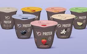 yogurt made with ultra filtered milk