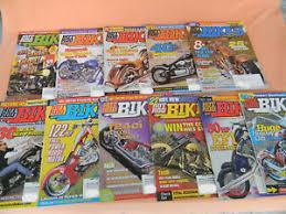 hot rod bikes magazine 2002 11 issues
