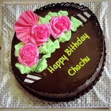 chocolate happy birthday cake for chachu jpg × happy