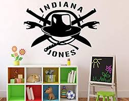 Amazon Com Wall Vinyl Decal Indiana Jones Movie Character Home Ideas Vinyl Decor Sticker Home Art Print Wd5613 Home Kitchen