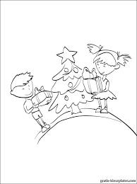 Kinderen Met Cadeaus Kleurplaat Voor Print Gratis Kleurplaten