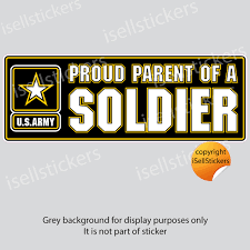 Stickers Decals Ar 2286 Army Proud Dad Of A Soldier Car Bumper Sticker Vinyl Window Decal Collectibles Current Militaria 2001 Now