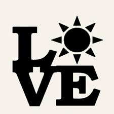 Love Sun Sticker Car Window Cruise Ship Tanning Bed Sea Beach Ocean Lotion Vinyl Decal Sun Us Independence Day Car Styling New Buy 2 Get 1 Extra Wish