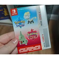 Nintendo Switch Pokemon Sword / Shield Dynamax Crystal Wild ...