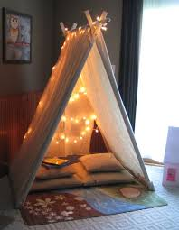 Need A Little Private Space Make A Reading Tent In A Corner Of Your Small Space