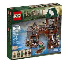 Bộ xếp hình lego Hobbit tấn công thành phố nổi 79016