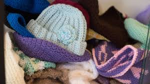 Yarn Club knits, purls to make items for charity donations