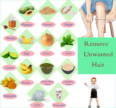 remove unwanted hair naturally best