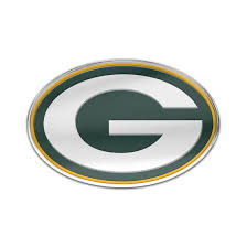 Green Bay Packers Color Logo Auto Badge At The Packers Pro Shop