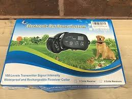Kd660 Waterproof Rechargeable Pet Electronic Fence System 1 Dog Shock Collar 45 96 Picclick
