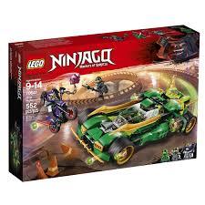 LEGO NINJAGO Ninja Nightcrawler 70641 Building Kit 552 Piece ...