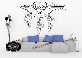 Dreamcatcher Wall Art Sheets Mural Wolf Dream Catcher Decal Monogram Hanging Kit For Ideas Vamosrayos