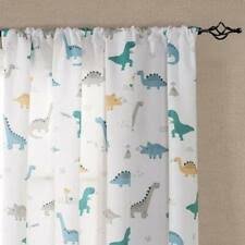 Kids Dinosaurs Multi Color Window Curtains Drapes For Sale Ebay