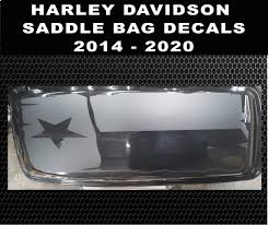 2014 2020 Harley Davidson Texas Flag Ultra Classic Limited Street Glide Road Glide Saddlebag Texas State Flag Decal 24 99 44 99 Country Boy Customs Store