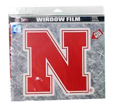 N Huskers Window Film