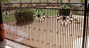 Decorative Wrought Iron Fencing Decorative Patio Panel