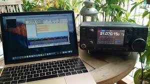 icom ic 7300 sdr radio in a box