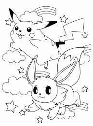 Pokemon Kleurplaat Geprint Pikachu Coloring Page Pokemon
