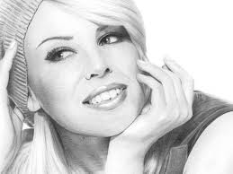Kylie Minogue Pencil Drawing by Sophie Lawson on Dribbble