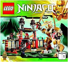 Ninjago - Temple of Light [Lego 70505] Instructions