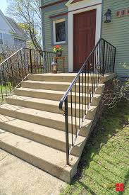 Porch Railing Refresh With Stops Rust Spray Paint