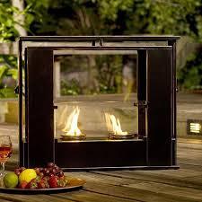 electric fireplace outdoor indoor