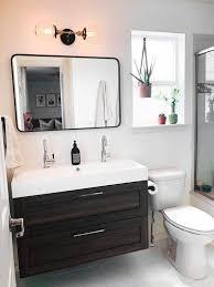black bathroom lighting light bath bar