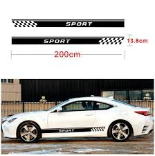 Graphics Vinyl Side Skirt Stripe Car Sticker Door Decal Fit Nissan X Trail 2 Pcs Archives Midweek Com