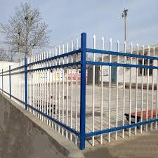 Vova Zinc Steel Guardrail Villa Garden Small Rea Protection Column Plant Rea Rural School Courtyard Wall Fence Fence Steel Pipe Guardrail