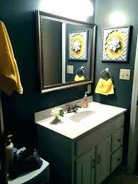 gray yellow bathroom ideas sarao co
