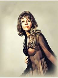 "Ingrid Pitt, Vintage Actress"" Poster by SerpentFilms 