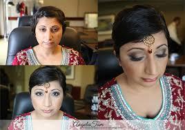 south asian bride makeup artist