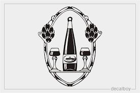 Wine Decals Stickers Decalboy