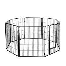 Portable Pet Outdoor Fence Enclourure Playpen For Dogs Cats Rabbit