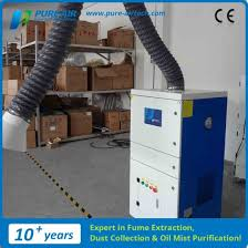 china pure air portable welding fume