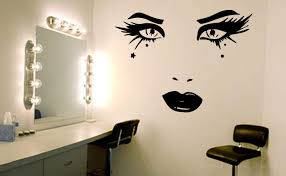 Beauty Face Wall Art Decal Wall Decals Wall Stickers Wall Quotes Express Yourself Decals