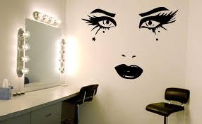 Beauty Face Wall Art Decal Sticker Beauty Wall Decal