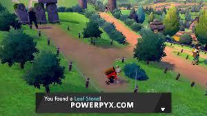 Pokemon Sword & Shield - Leaf Stone Location
