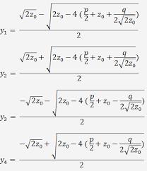 quartic equation calculator how to
