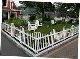 Zippity Outdoor Products Zp19048 Washington No Dig Picket Fence White Ebay